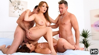 Kristina Miller Courtney Blue Choky Ice Wet It And Get It – Euro Sex Parties Realitykings