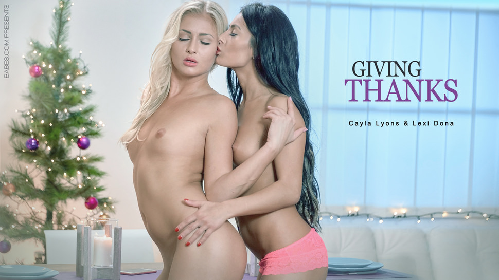 Giving Thanks – Cayla Lyons Lexi Dona – Babes