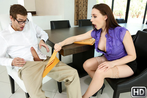 Chanel Preston, Xander Corvus – Taxing Titties –  Big Tits Boss