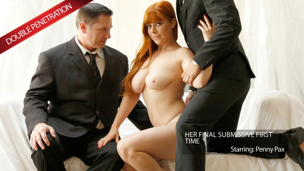 Newsensations – Penny Pax, John Strong, Mick Blue – Penny Submits One Last Time For A Memory