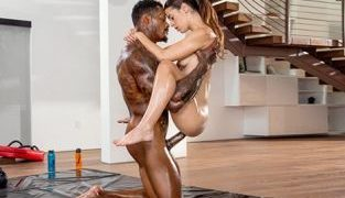 Blacked – Abbie Maley Playing Harder