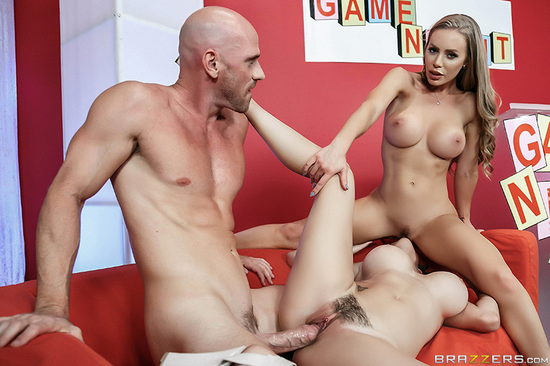 Nicole Aniston & Peta Jensen Johnny Sins – Game Night Shenanigans