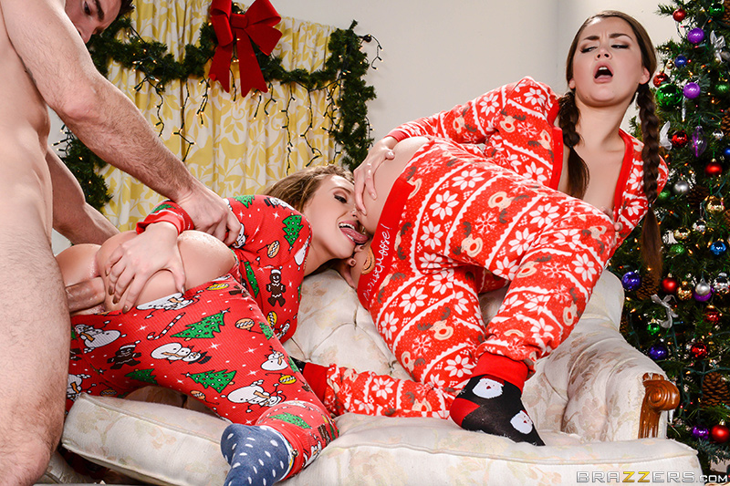 Anal Xmas  – Allie Haze & Harley Jade Charles Dera – Big Wet Butts