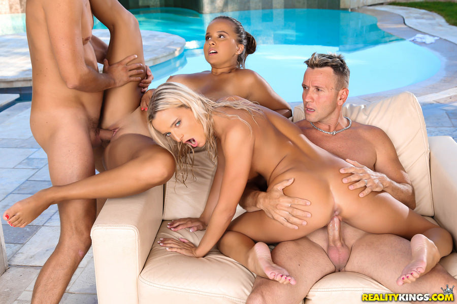 RealityKings – Pool Party – Olivia Nice, Victoria Pure, Choky Ice, Kristof Cale – Euro Sex Parties