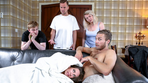 How I Fucked Your Mother A DP XXX Parody Episode 5 – Cassidy Klein & Michael Vegas