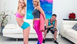 RealityKings – Riley Star, Tabatha Jordan Stretching With Stepmom MomsBangTeens