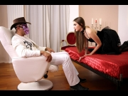 Lena Reif – Dracula's kinky daughter Lena Reif rides big cock with her tight wet pussy GP769   – Brazzztube