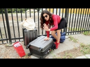 Gabriela Lopez – Leaving Her Baggage Behind – Stranded Teens   – Brazzztube