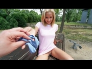 Veronica Leal – She Loves Money And Dick – Public Pickups   – Brazzztube
