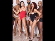 Dana Santo, Nilla Black – Dana Santo And Nilla Black Interracial Kinky Sex IV267   – Brazzztube