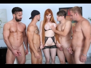 Lauren Phillips – Manhandle, Lauren Phillips gets 4on1 rough sex with Balls Deep Anal, DAP, Gapes and Swallow GIO1270   – Brazzztube