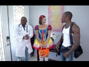 BangTrickery – Ivy Lebelle – Goes Trick Or Treating For Double Penetration    – Brazzztube