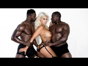 Bridgette B – Interracial Anal Threesome    – Brazzztube