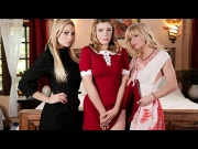 Kenzie Taylor, Giselle Palmer, Serene Siren – Teen Witch A Chilling Adventures Of Sabrina Parody   – Brazzztube