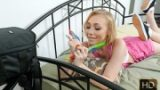 Athena May – Sweet Tooth Teen Sex – Brace Faced   – Brazzztube