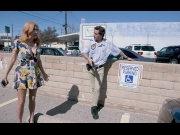 BangTrickery – April O'Neil – Fucks The Security Guard To Get Out Of Her Parking Ticket!   – Brazzztube