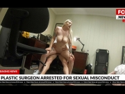 BangFakeNews – Hadley Haze – Gets Fucked During A Consultation At The Plastic Surgeons Office    – Brazzztube