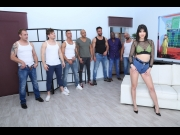 Lady Dee – 7on1 DAP gangbang with Lady Dee Balls Deep Anal, Gapes, Creampie and swallow GIO1050   – Brazzztube