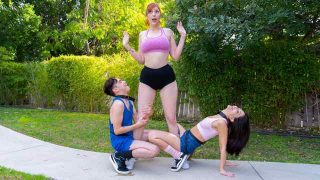 Lauren Phillips, Jane Wilde – The Humper And The Humpette – LilHumpers  – Brazzztube