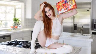 Aria Carson – Ginger Chick Craves Man Milk – GingerPatch  – Brazzztube