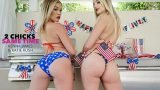 Katie Kush, Kenna James – 2 Chicks Same Time  – Brazzztube