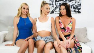 Emma Hix, Silvia Saige, Aaliyah Love – Tempted By The Babysitter  – Brazzztube