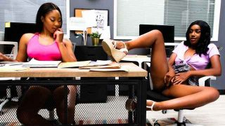 Lala Ivey, Ashley Aleigh – It's Okay, We're Just STEP Sisters! Ashley Aleigh and Lala Ivey  – Brazzztube