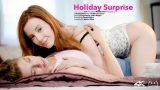 Lottie Magne, Freya Mayer – Holiday Surprise  – Brazzztube