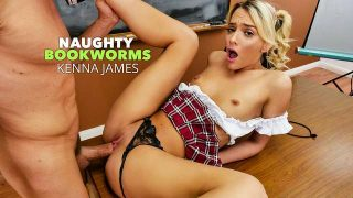 Kenna James – Naughty Bookworms  – Brazzztube