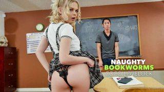 Coco Lovelock – Naughty Bookworms  – Brazzztube