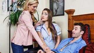 Naughty Nurse, Horny Housewife – Cherie Deville, Dani Daniels, James Deen – Brazzztube