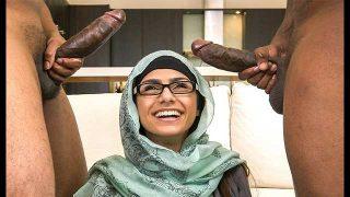 Mia Khalifa – Mia Khalifa's First Monster's Cock's Threesome's  – Brazzztube
